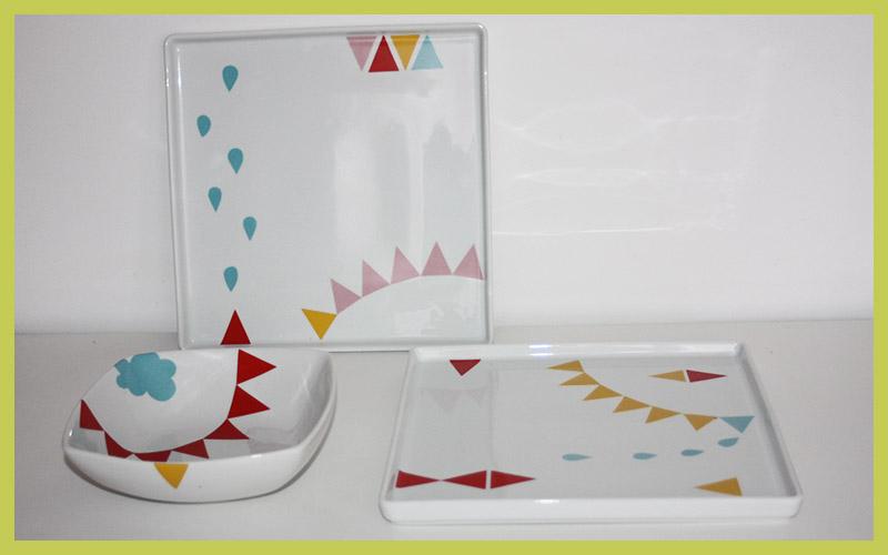 Festejo In Box: pratos de ceramica